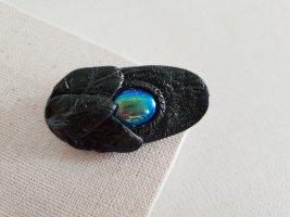 Boutique Ware Spilla grigio scuro-blu scuro