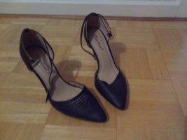 Belle Women Strapped pumps black imitation leather