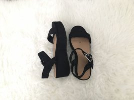Asos Plateauzool sandalen veelkleurig