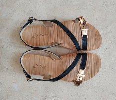 Schwarze Sandalen der Marke Juliet, Gr. 37