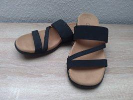 Schwarze Sandalen von Gabor NEU