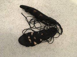 Schwarze Sandalen von Mango