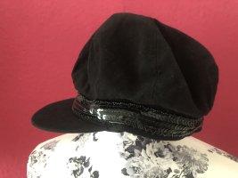 ohne Marke Cappello con visiera nero Cotone