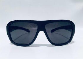 Prada Gafas de sol cuadradas negro-rojo