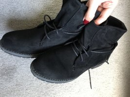 Lace-up Booties multicolored