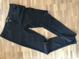 Schwarze Stoffhose - 40