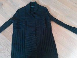 Mango Coarse Knitted Jacket black