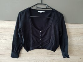 C&A Clockhouse Knitted Bolero black cotton