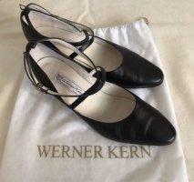 Schwarze Tanzschuhe aus Leder von Werner Kern