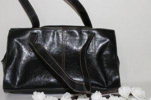 Shoulder Bag black imitation leather