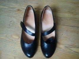 Vabeene Escarpins Mary Jane noir cuir