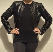 Blacky Dress Giacca in pelle nero