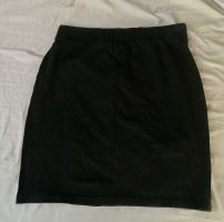 H&M Divided Stretch Skirt black