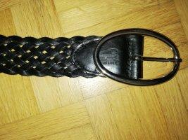 Sfera Braided Belt black imitation leather