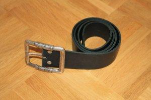 Petrol Industries Cinturón de cuero negro Cuero