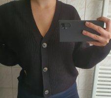 Amisu Wollen trui zwart