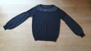 schwarzer Pullover von Patrizia Pepe
