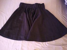 MTWTFSSWEEKDAY Falda de lino negro