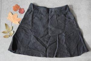 H&M Linen Skirt multicolored linen