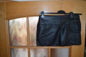 Ann Christine Mini-jupe noir polyester