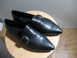 Vagabond Slip-on Shoes black leather