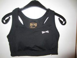 schwarzer Sport-BH