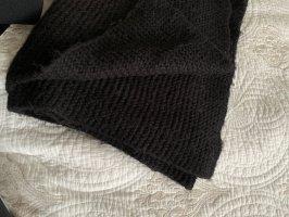 Zara Écharpe en tricot noir