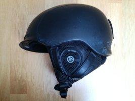 Schwarzer Unisex Audio-Helm Größe 51-55cm (S)