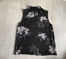 Schwarzes Blumen Top
