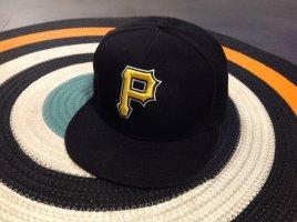 New Era Casquette de baseball noir-jaune