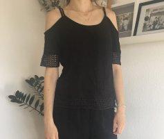 Schwarzes Carmen Shirt 36