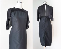 French Connection Evening Dress black silk
