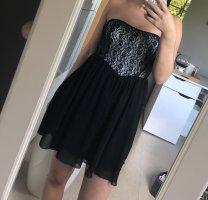 Schwarzes Kleid Gr.:XS