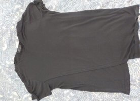 Bershka Cut Out Dress black-grey