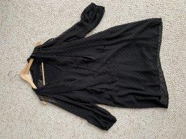 Schwarzes Kleid Zara