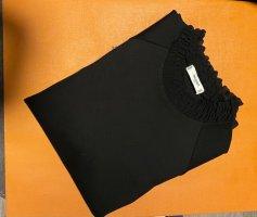 Mango Robe noir tissu mixte