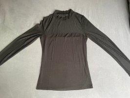 SheIn Siateczkowa koszulka czarny