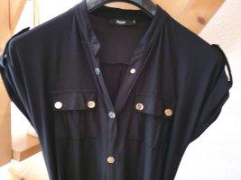 Maxi-jurk zwart Polyester
