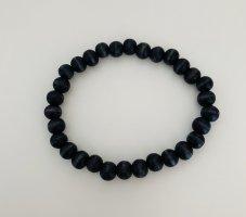 Schwarzes Perlenarmband aus Holz zu verkaufen