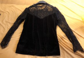 Amy Vermont Mesh Shirt black polyester