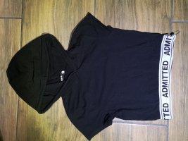 FB Sister Camicia con cappuccio bianco-nero