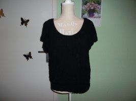 schwarzes shirt,von laura scott,grösse 38