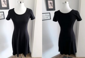 AJC Sukienka z dżerseju czarny Bawełna