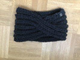 Schwarzes Stirnband