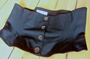 Comma Cinturón pélvico negro Algodón