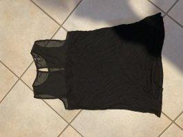 H&M Top linea A nero