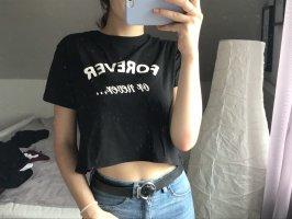 schwarzes tshirt