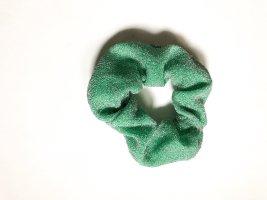 Bandeau cheveux vert menthe-argenté