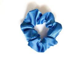Wstążka do włosów chabrowy-stalowy niebieski