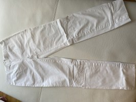Seductive 7/8 Length Trousers white